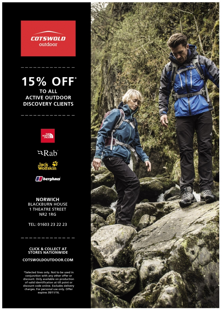 Cotwold Outdoor Client Discount